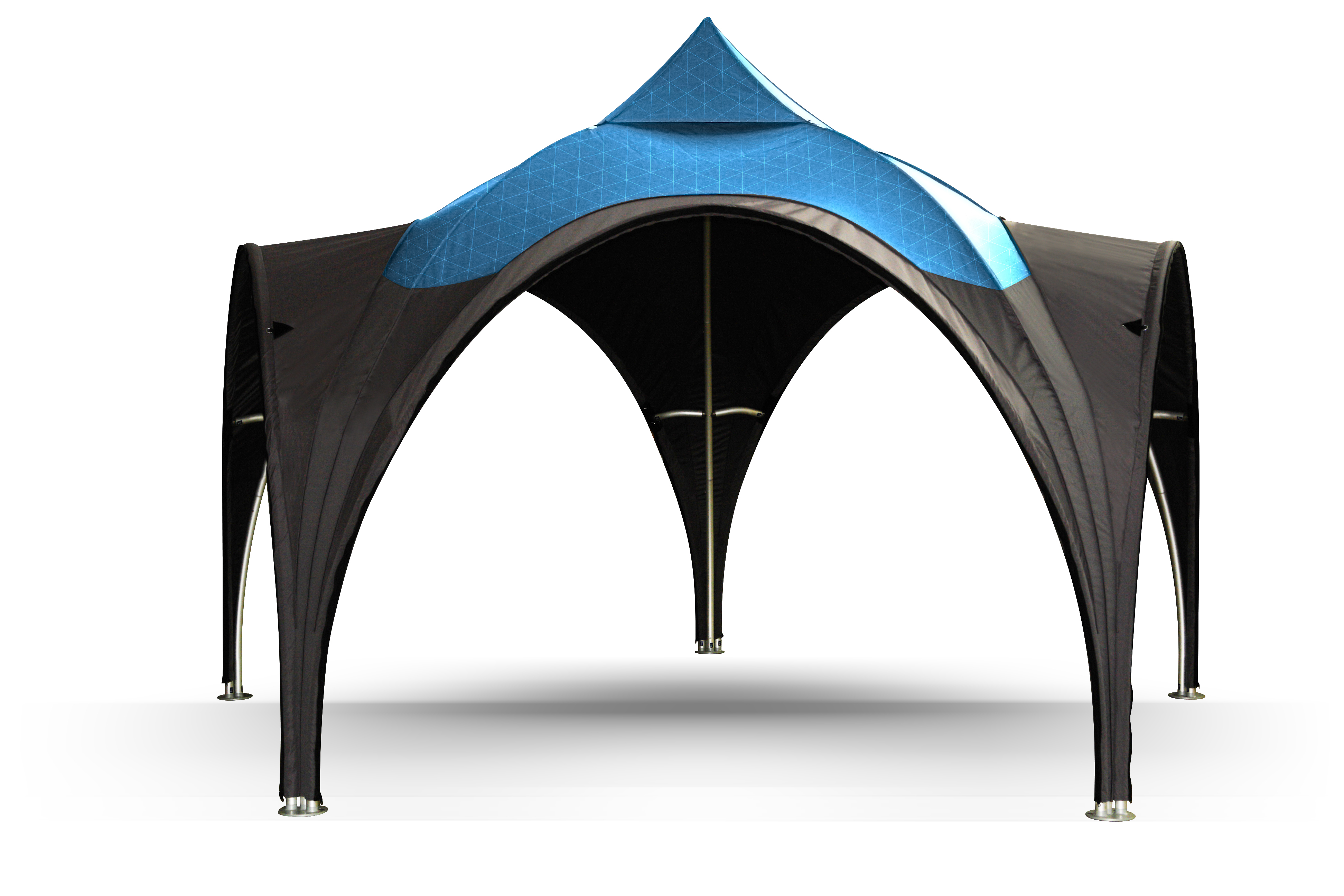 Dome tent.